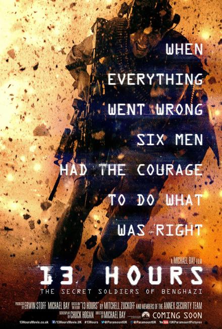 13 часов: Тайные солдаты Бенгази (2016)