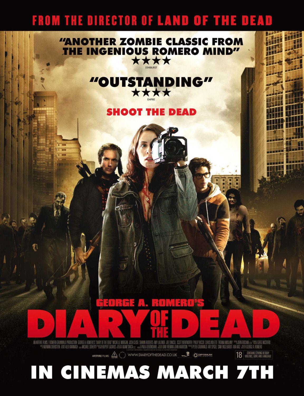 Дневники мертвецов (2007) Зомби, скука и недодрама