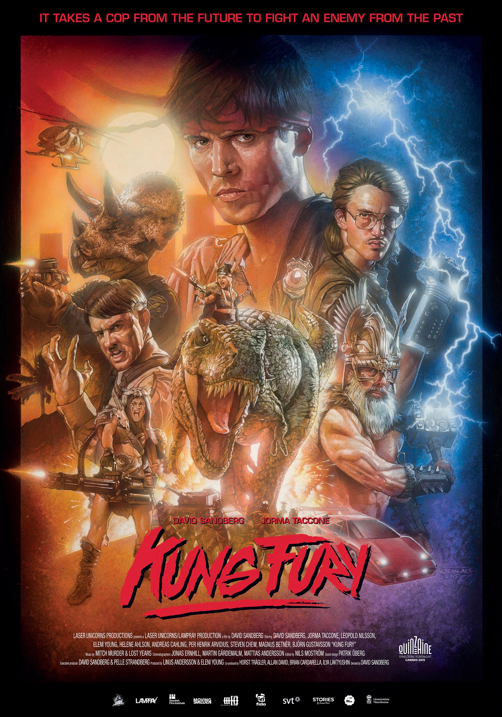 Короткометражка Kung Fury + Самые крутые озвучки