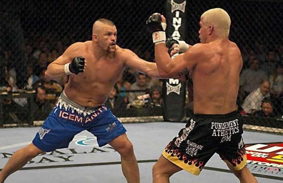 Iceman: My Fighting Life. Книга Чака Лидделла, бойца MMA