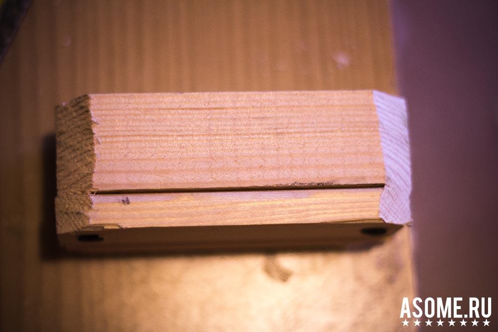 Крутая подставка для iPhone из дерева своими руками + Пошаговая инструкция и фото
