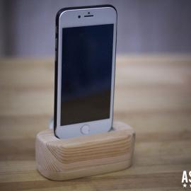 Крутая подставка для iPhone из дерева своими руками + Пошаговая инструкция