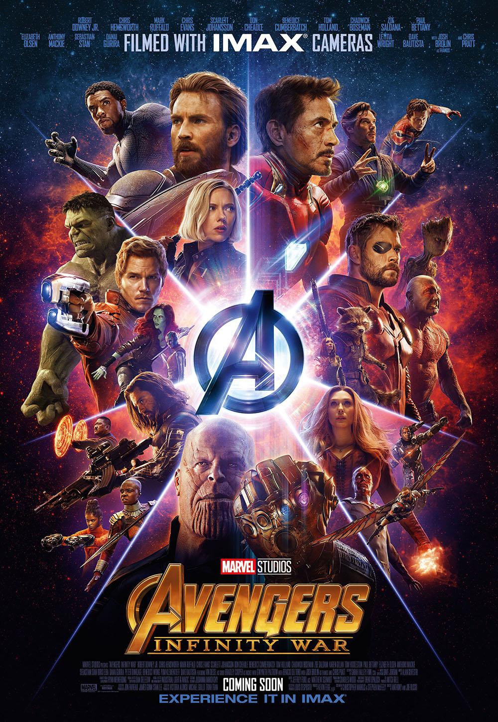 Мстители 3: Война бесконечности (2018)