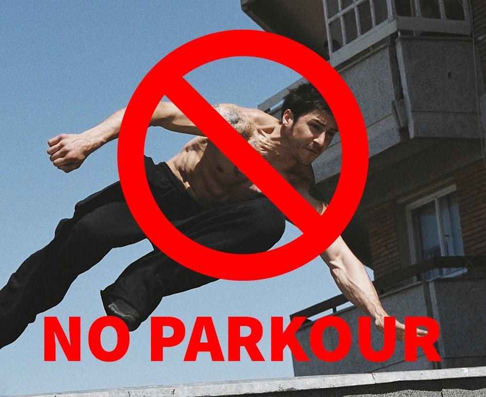 Правила Паркура 🔒 Не всё вокруг – твой спот