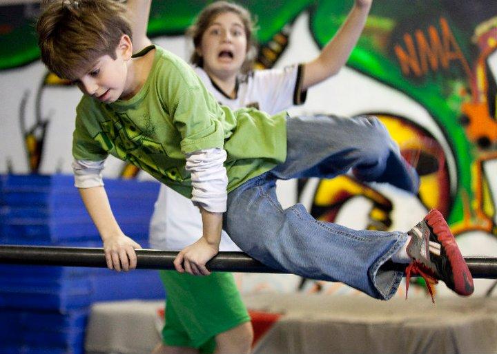Правила Паркура 🔒 Ты прыгнул – дети повторили
