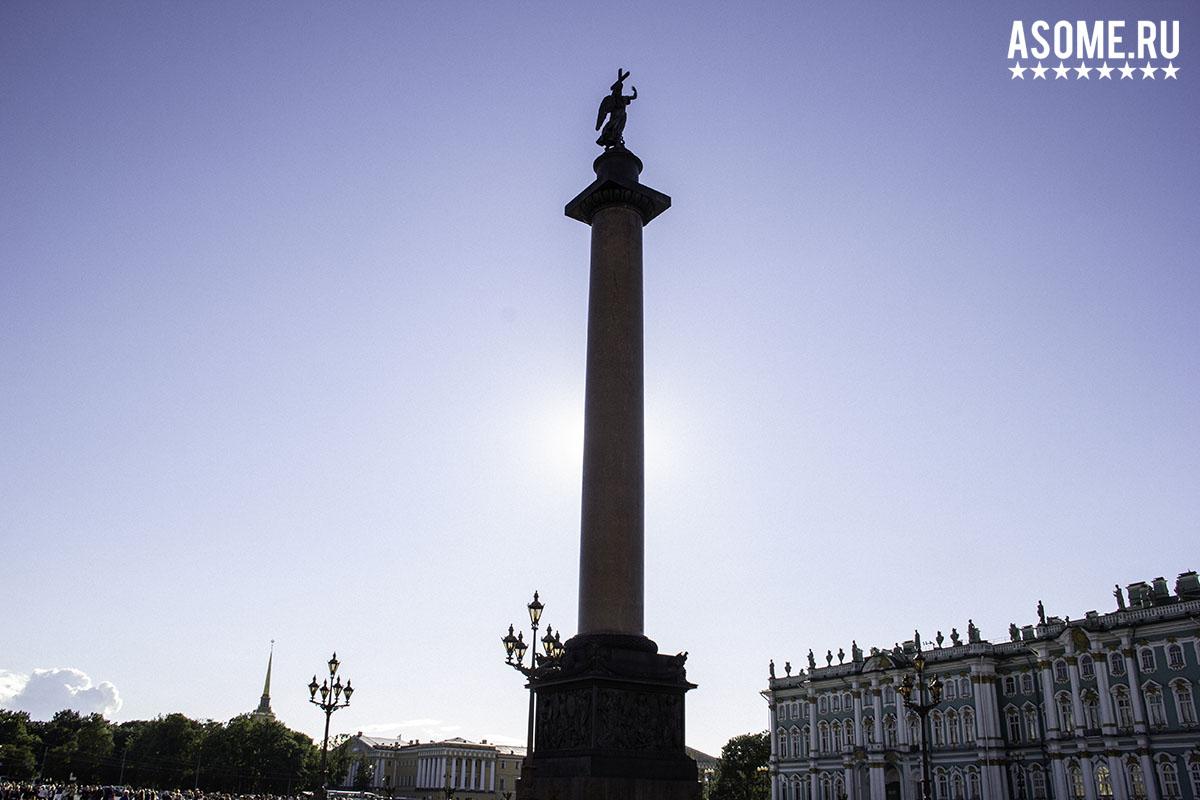 Невский проспект и Дворцовая площадь