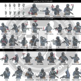 Жесты / сигналы руками в Спецназе