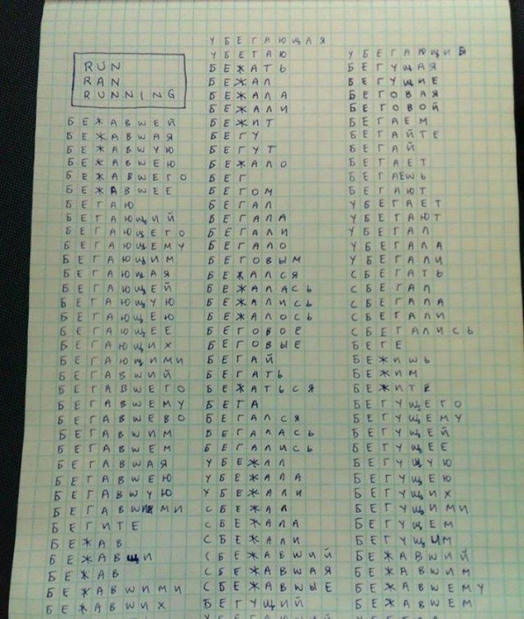 Слишком сложный русский язык