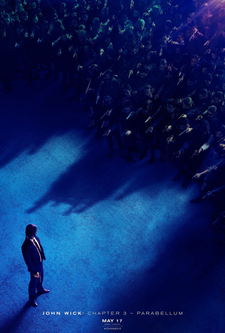 Постер к фильму Джон Уик 3 (2019)