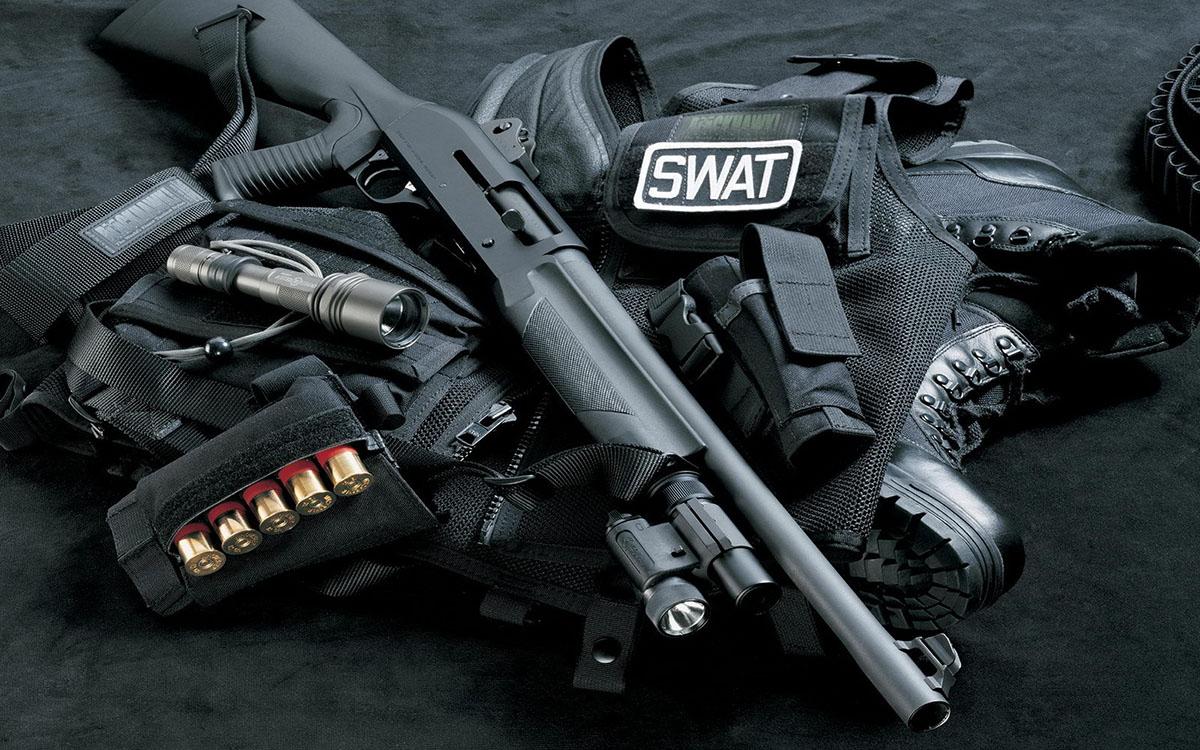 Спецназ SWAT на реальном задании / в жизни