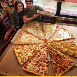 Мега пицца