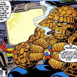 Человек-Паук и Существо