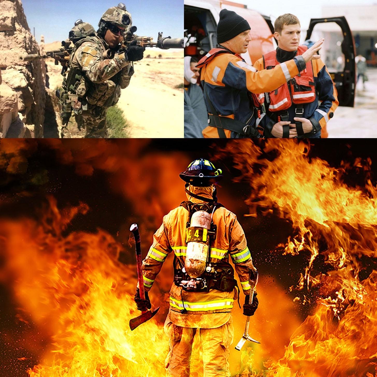 Почему я не стал Героем: Спецназовцем, Спасателем, Пожарным