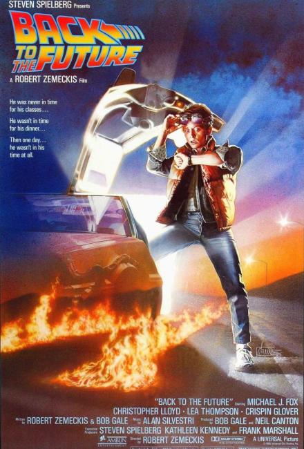 Постер фильма Назад в будущее (1985)