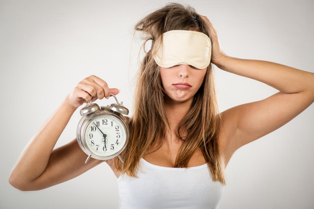 Не хроническая усталость, а недостаток сна!