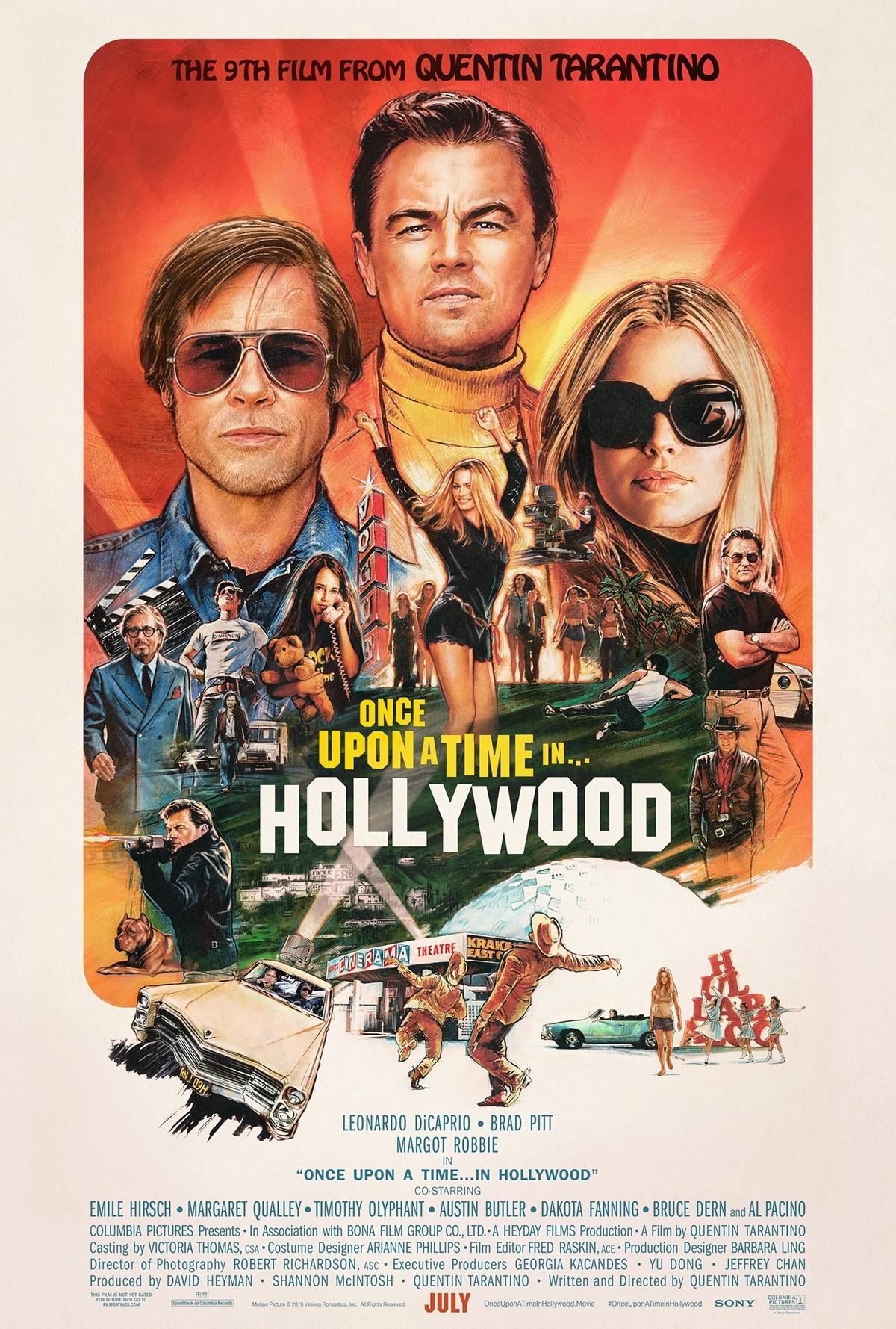 Однажды в Голливуде (2019)