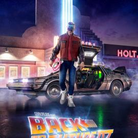 Постер к фильму Назад в будущее 4