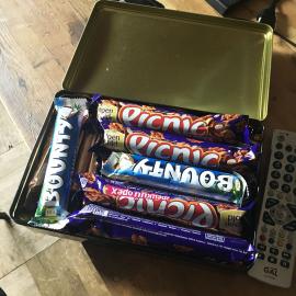 Сундучок с шоколадками