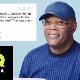 Сэмуэл Л. Джексон отвечает на вопросы о себе