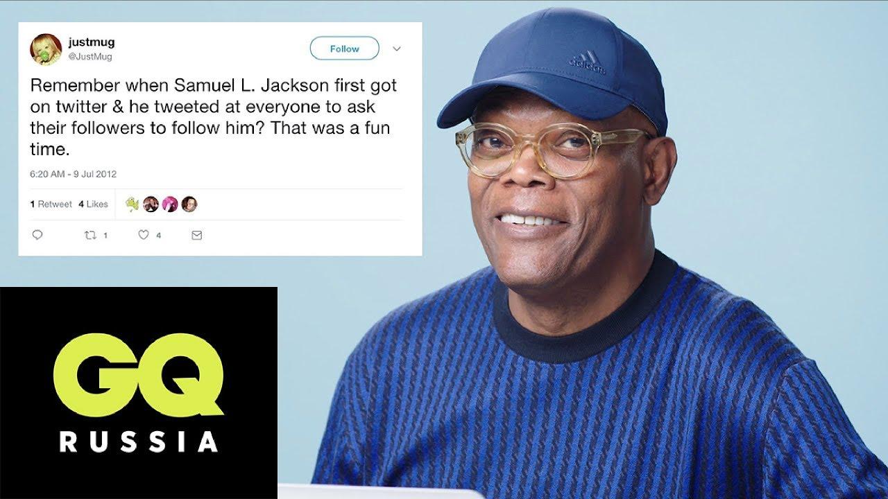 Сэмюэл Л. Джексон отвечает на вопросы о себе