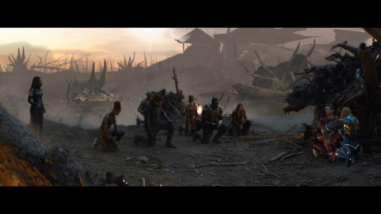 Удалённая сцена прощания с Железным Человеком