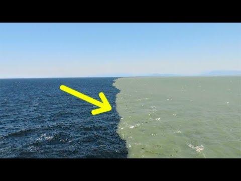 Галоклин: Почему два океана не смешиваются