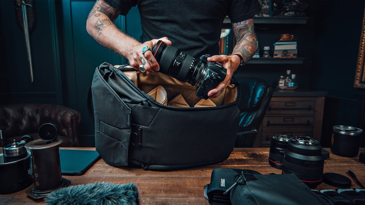 Peter McKinnon: Silently packing a camera bag