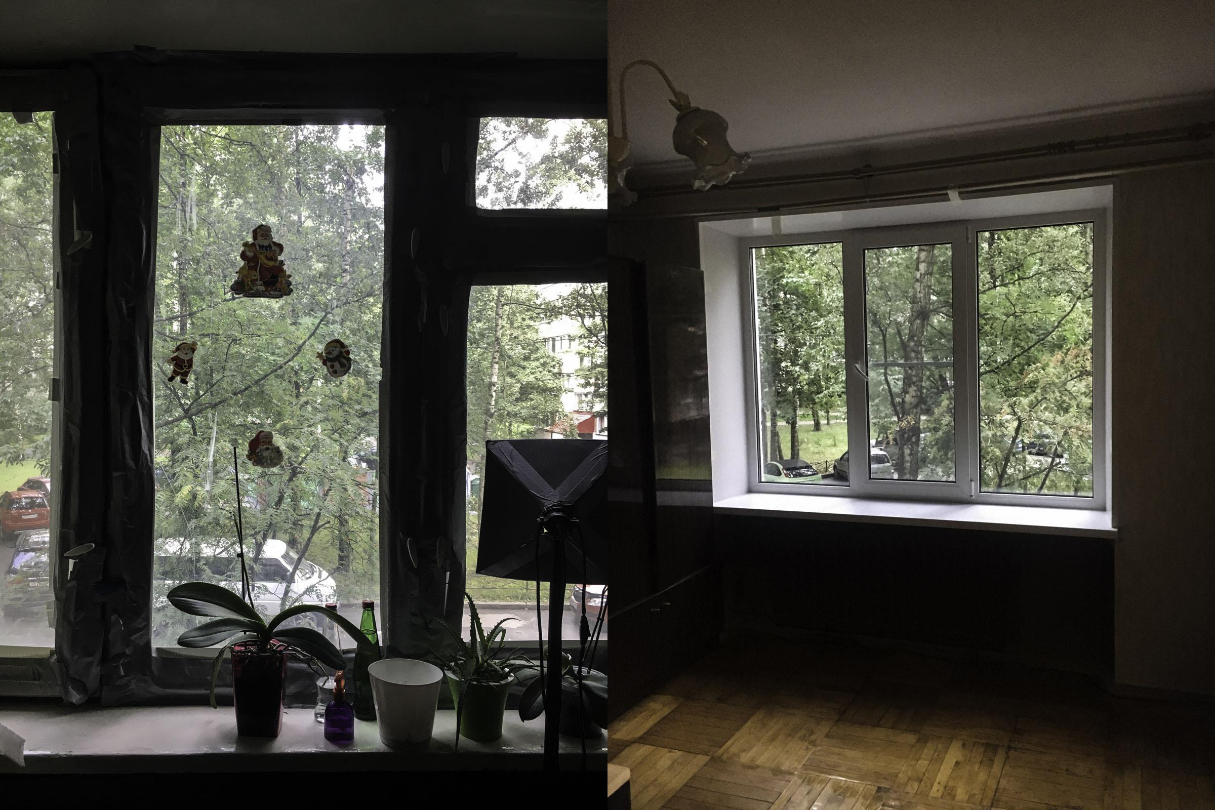 Ощущение тишины и уединения. Новые окна