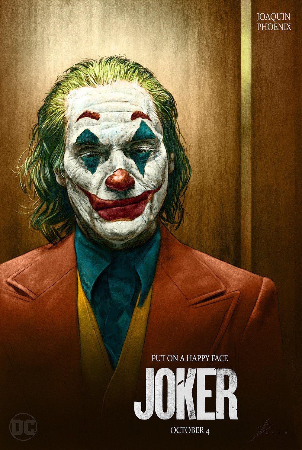 Крутые постеры к фильму Джокер (2019) #2