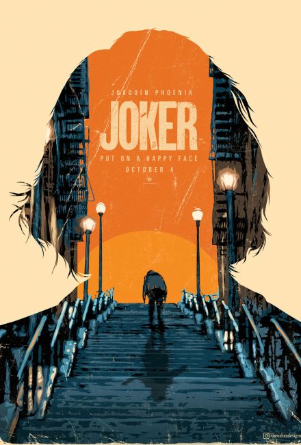 Крутые постеры к фильму Джокер (2019)