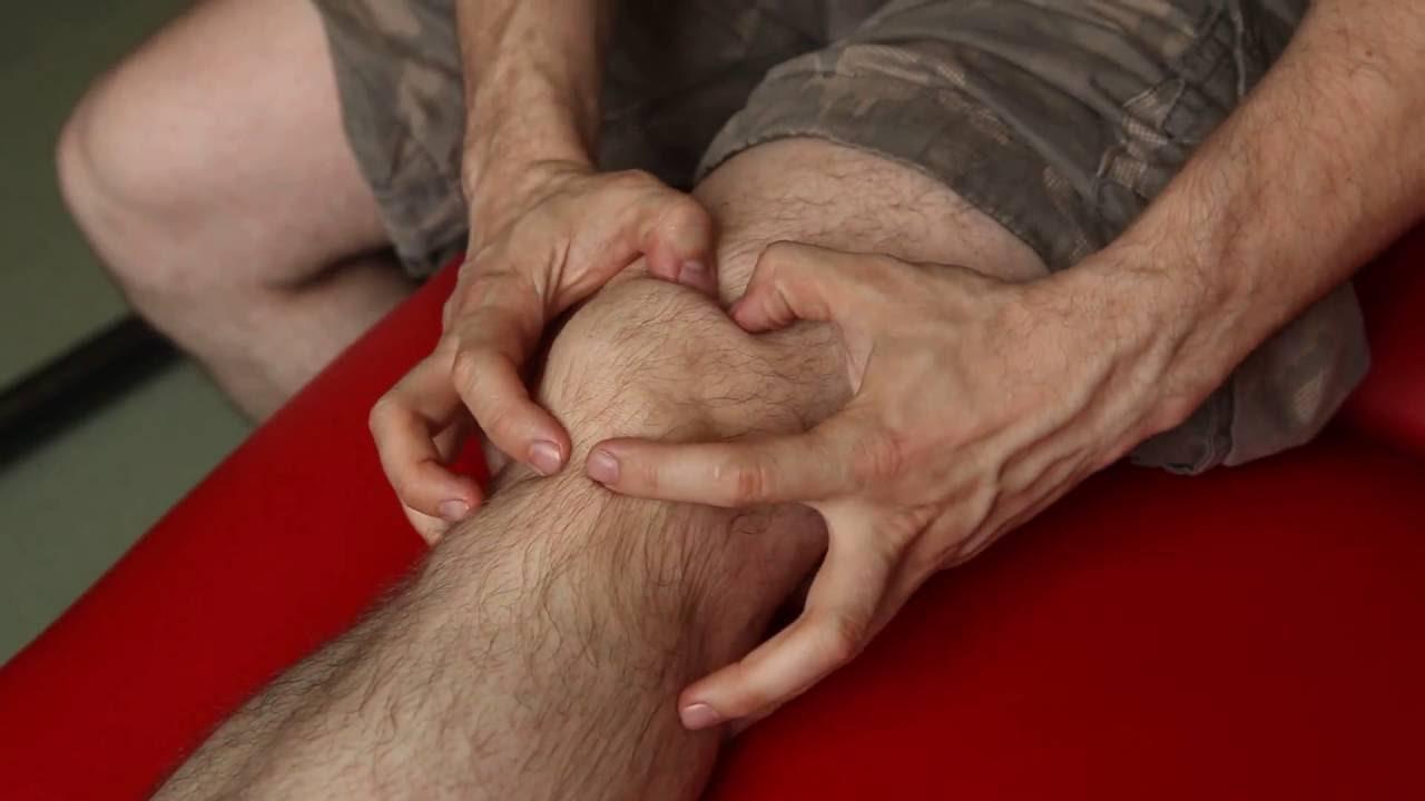 Массаж коленного сустава. Тейпирование коленного сустава