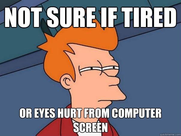 Глаза болят и зрение садится – спасибо компьютеру?