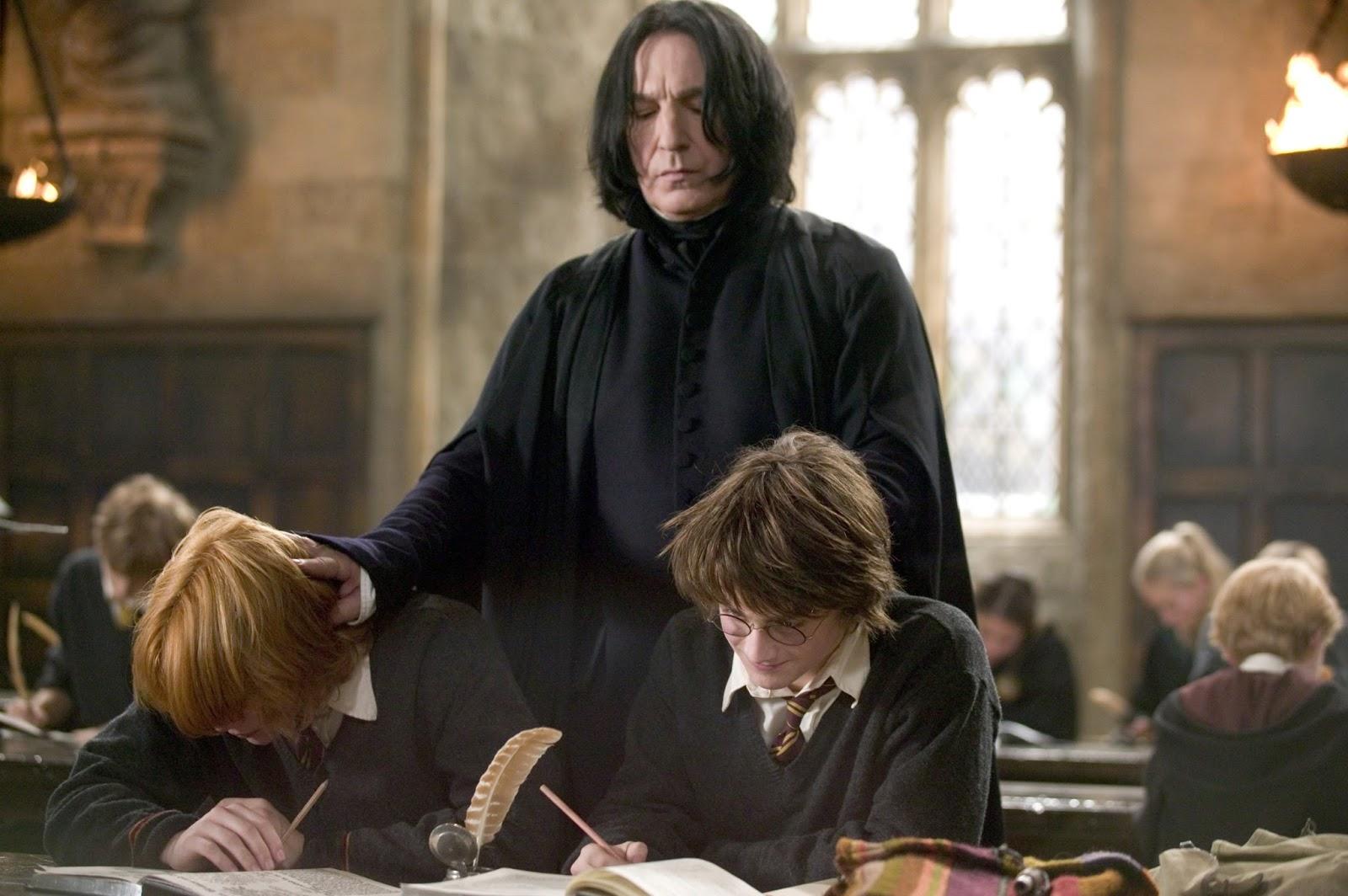 Момент из фильма Гарри Поттер и Кубок огня (2015): Северус Снэйп