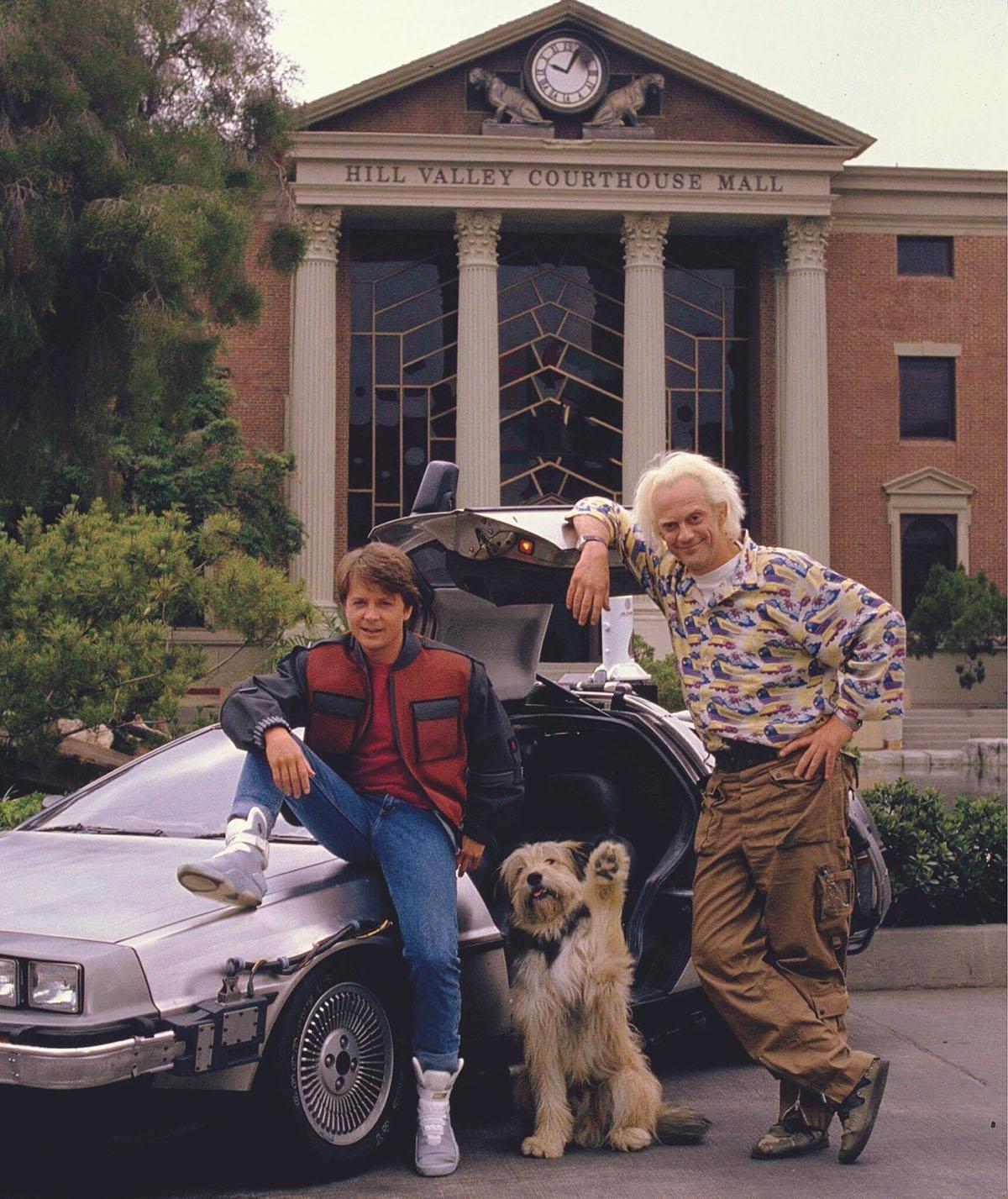 Фото со съёмок фильма Назад в будущее 2 (1989)