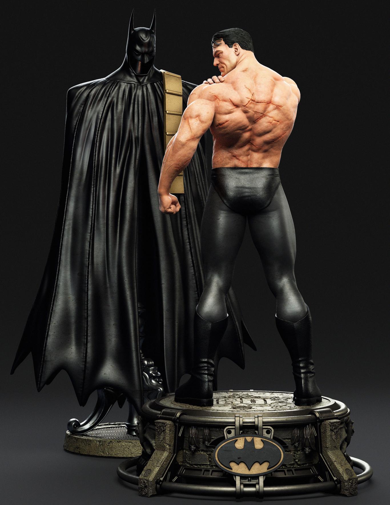 Как бы выглядел Бэтмен в реальности