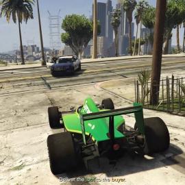 Болид Формулы 1 в GTA 5 Online