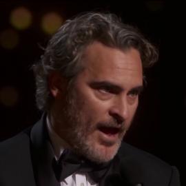 Речь Хоакина Феникса на вручении Оскара 2020