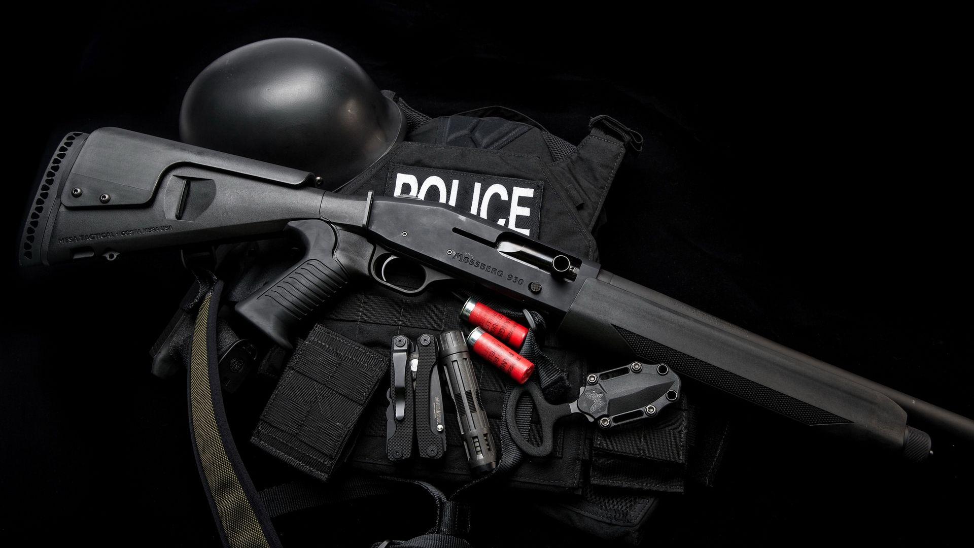 Экипировка полиции и SWAT