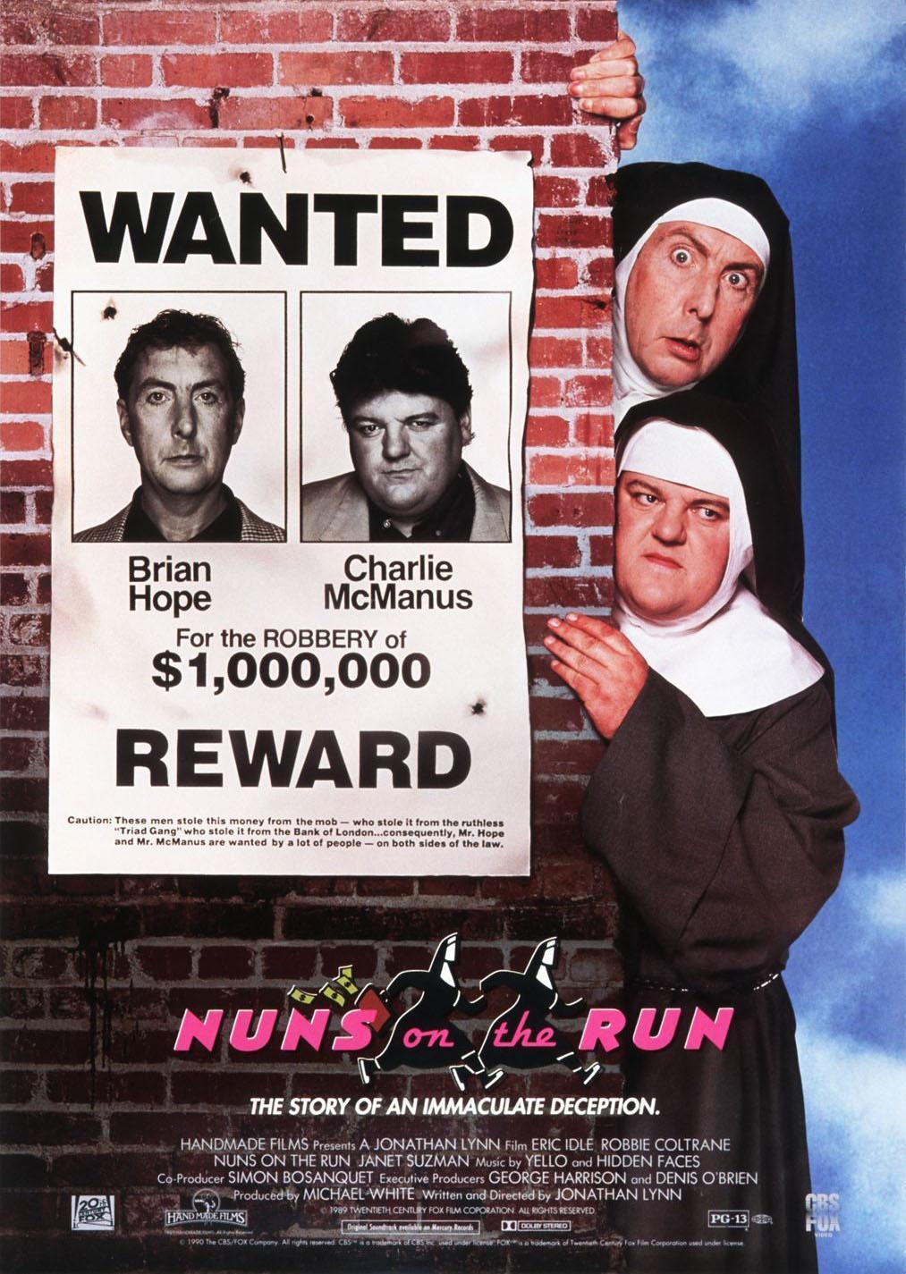 Монахини в бегах (1990)