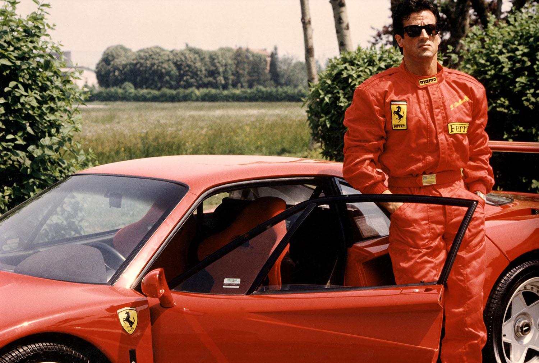 Сильвестр Сталлоне и Ferrari F40