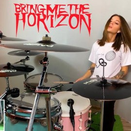 Bring Me The Horizon – Throne (Drum Cover)