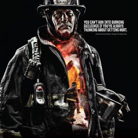 Крутые фото американских Пожарных + их высказывания о работе
