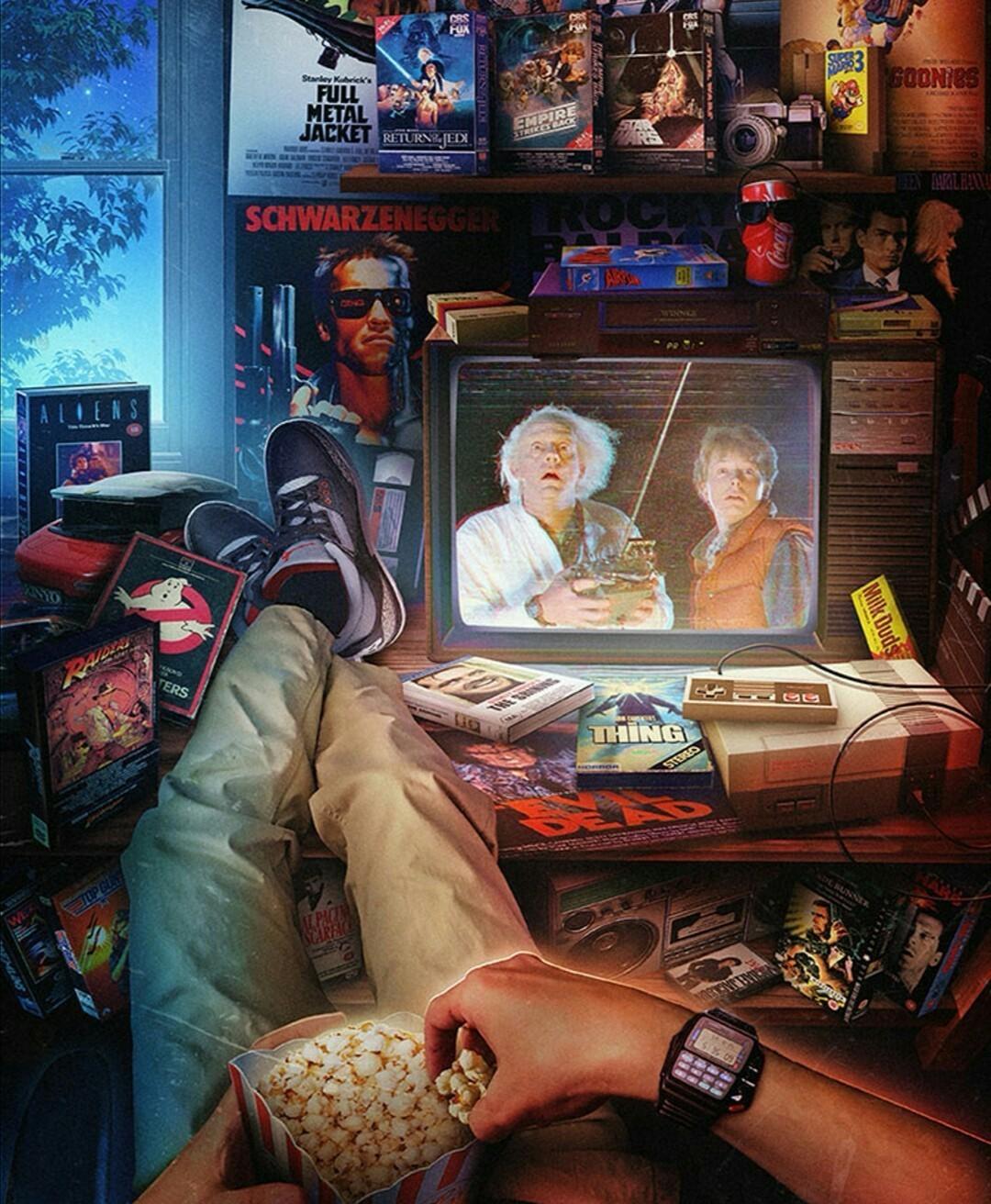 Скучаю по киноатмосфере 80-х и 90-х