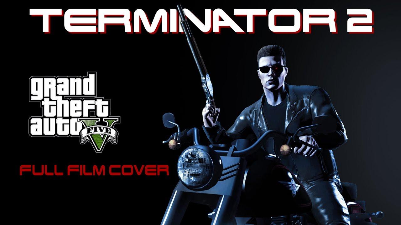 Терминатор 2, созданный с помощью GTA 5