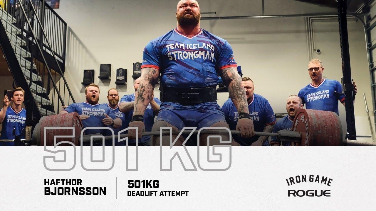 Хафтор Бьёрнссон поднял 500 кг!