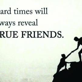 Когда ты успешен – вокруг много «друзей». Когда ты в беде – рядом никого