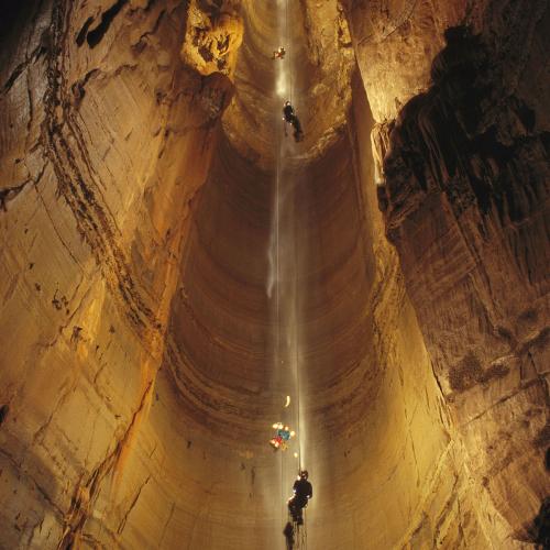 Самая глубокая пещера в мире #2: Крубера-Воронья в Абхазии