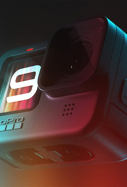 GoPro HERO 9: Ночная съёмка, стабилизация, выравнивание горизонта, экстрим, бег, Паркур