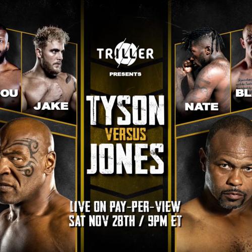 Бой Легенд: Майк Тайсон vs Рой Джонс