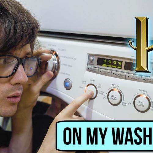 Музыка из Гарри Поттера на стиральной машине и сушке